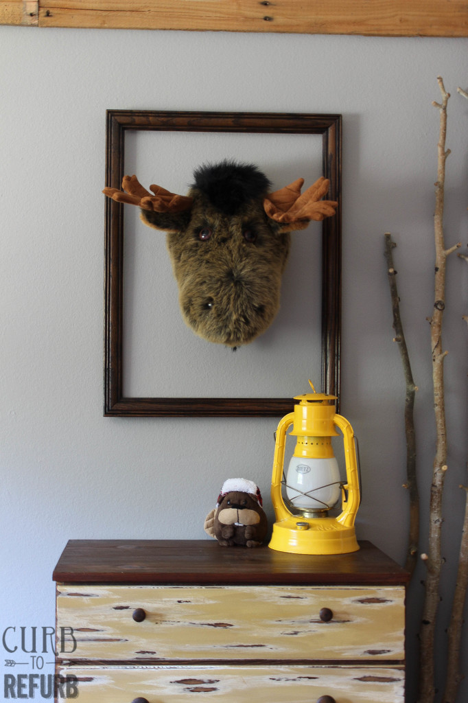 boy room moose head