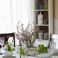 Easter Tablescape Farmhouse Style
