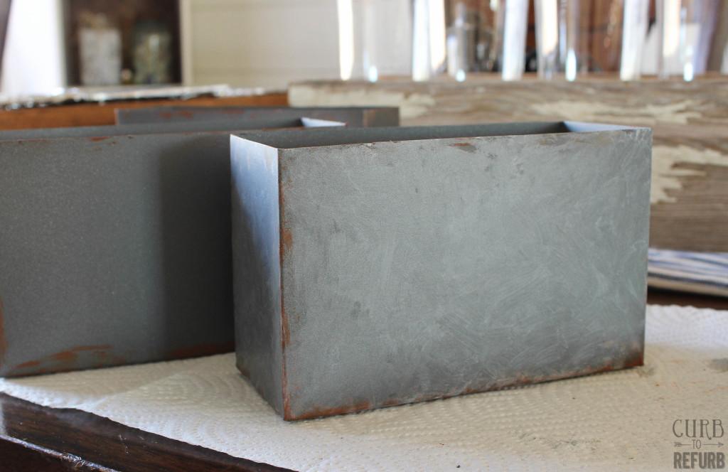 metal storage boxes