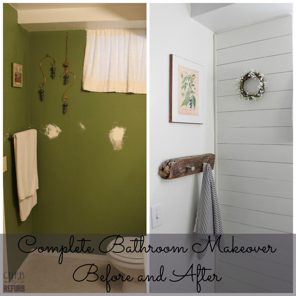 before and after bathroom