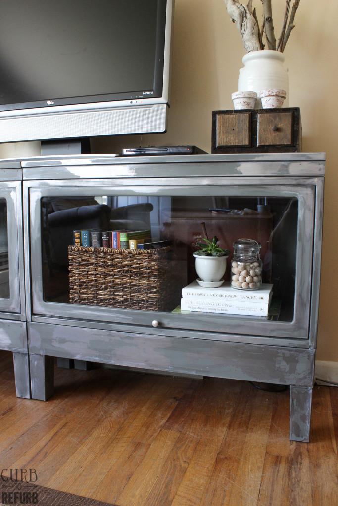 metal tv cabinet