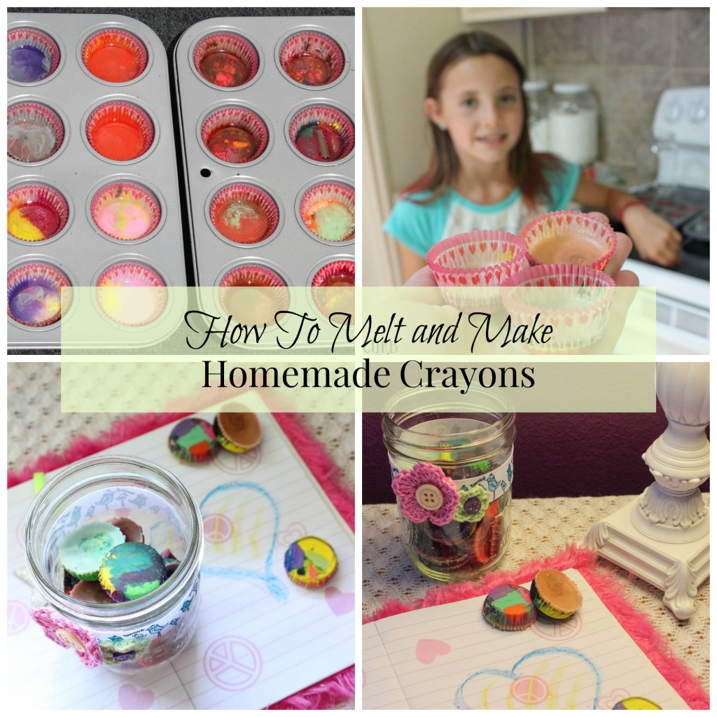 make - craft - crayons