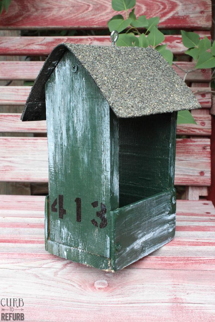 pallet - bird - feeder
