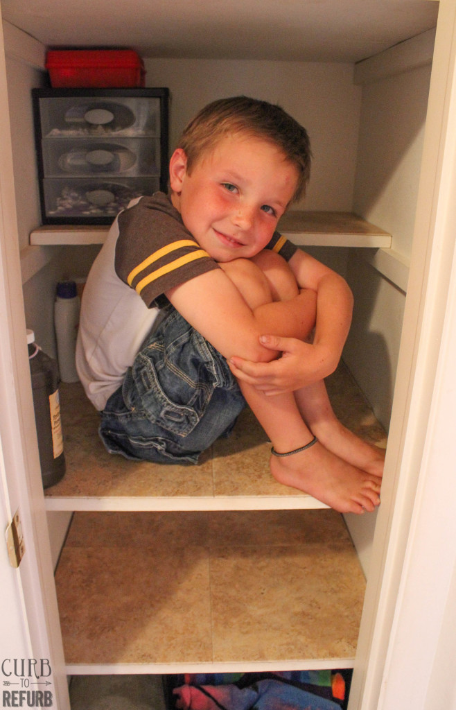tips-tricks-organized-lined-shelves-#shop