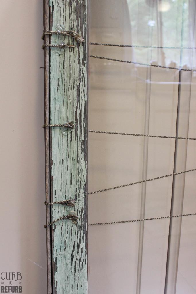 antique - window - memo - board