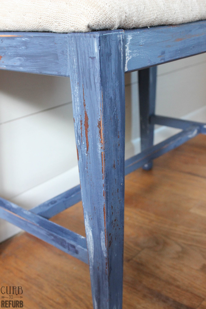 distressed - bench