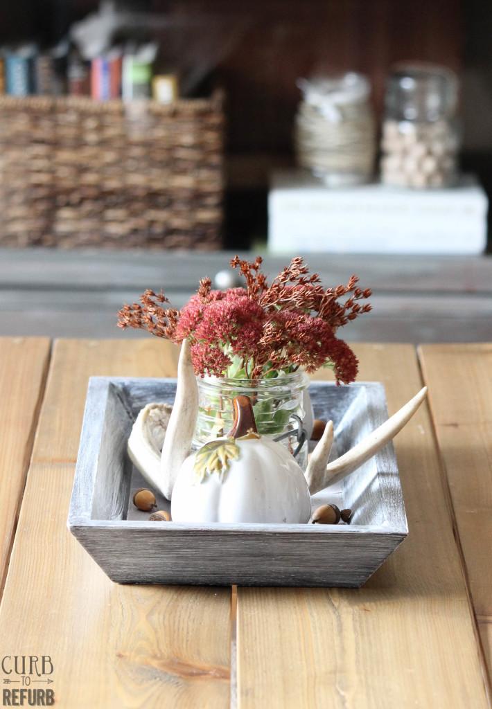 Fall - coffee - table - tray