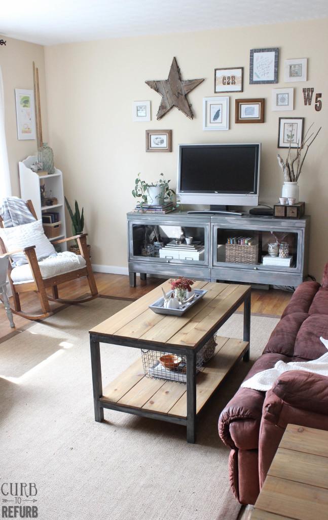 Fall - living - room - decor