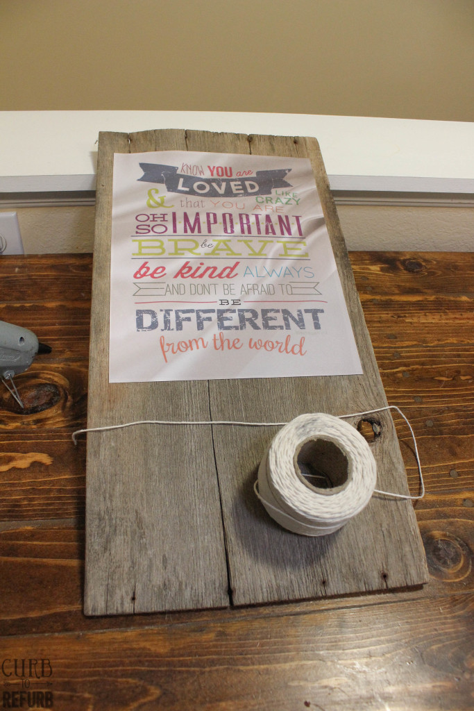 how to make a wooden sign