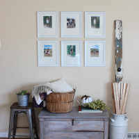 Eucharisteo Sign