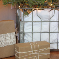 Creative Christmas Tree Container