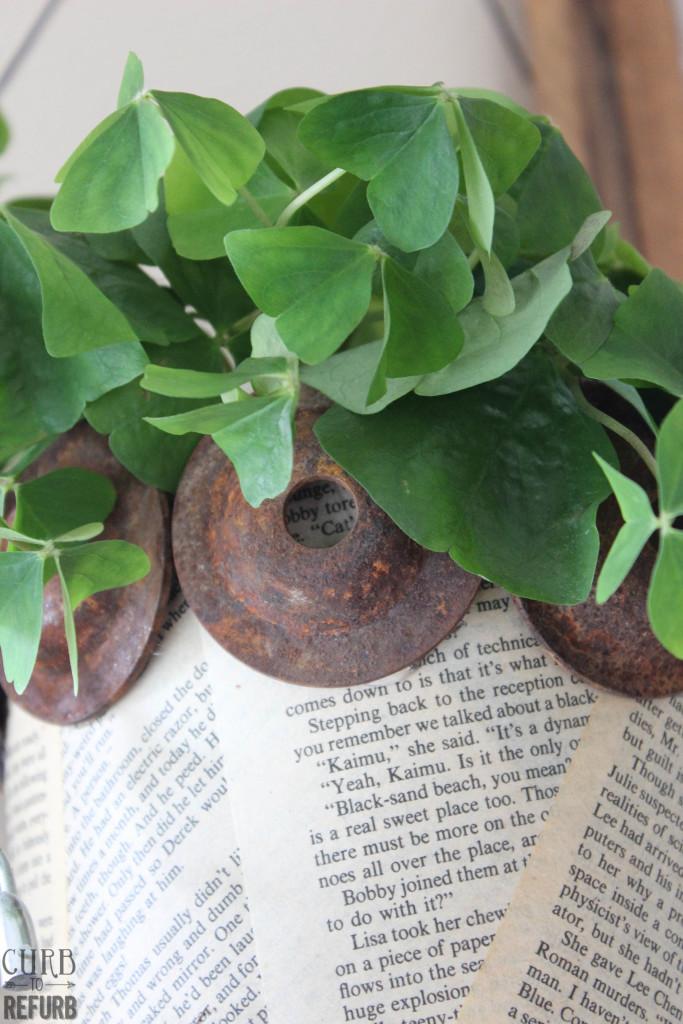 industrial flower pot